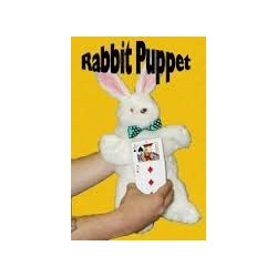 Rabbit Puppet Synthetic Hair.