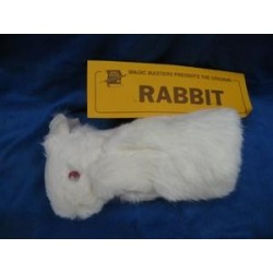 Rabbit Hand Puppet. No Spring. Spring Fur Rabbit - 2 Legs