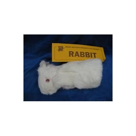 Rabbit Hand Puppet. No Spring. Spring Fur Rabbit - 2 Legs