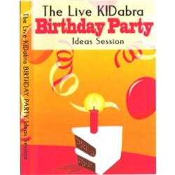 KIdabra live Birthday Party ( Set di 2 DVD)
