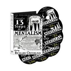 Richard Osterlind - Corinda's 13 Step to Mentalism vol. 1,2,3,4,5,6.