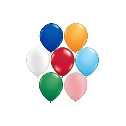 Palloncini Qualatex - Tondi diametro cm 28 - Buste da 100