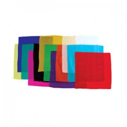 Foulard cm 30 X 30 Set di 12 Foulard colori assortiti