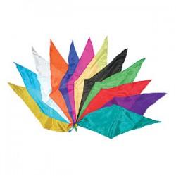 Foulard a forma di rombo confezione 12 colori differenti