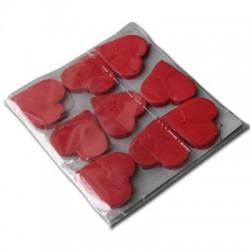 Nevicata cuore rosso professionale