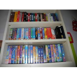 Video Cassette (VHS) eventualmente riversate su DVD video