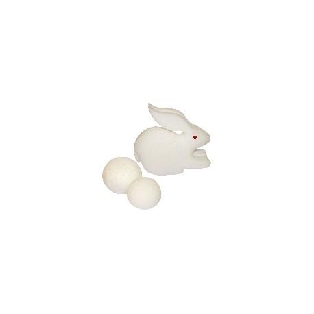 Palline di spugna in coniglio