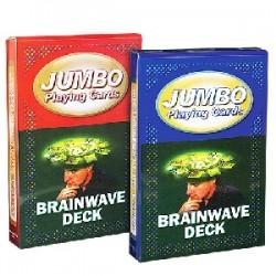 Mazzo di carte jumbo - Brainwave