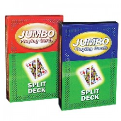 Mazzo di carte jumbo - Split