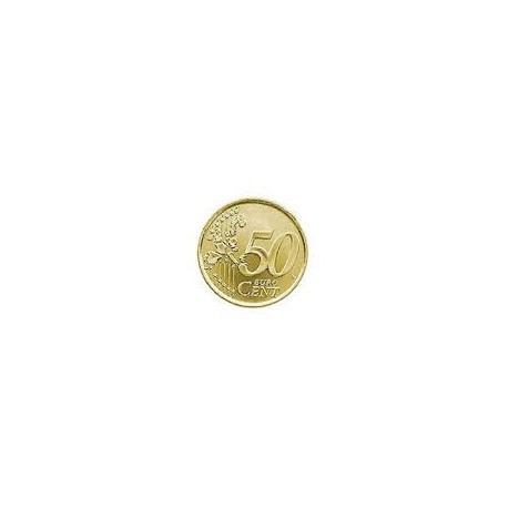 Moneta sensibile 50 centesimi Euro