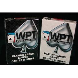 WPT - POKER DECK dorso bianco o nero