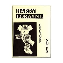 HARRY LORAYNE: Lecture Notes Paperback – 1980