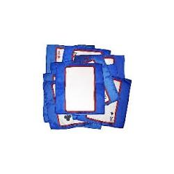 Sitta Card Silk - Blu - Cm 30 x 30