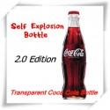 Self Explosion Bottle 2.0 -Transparent Coca Cola Bottle (1 Piece)