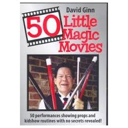 50 Little Magic Movies , David Ginn Dvd