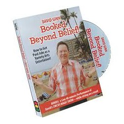 Booked Beyond Belief, David Ginn DVD