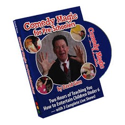 Comedy Magic for Pre-Schoolers David Ginn Dvd
