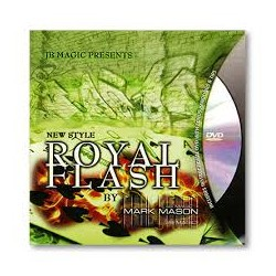 Royal Flash by Mark Mason and JB Magic - DVD