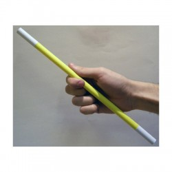 Magic Wand Yellow Body (White Tips) by Bazar De Magia.