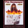 Fire Newspaper by Tora Magic