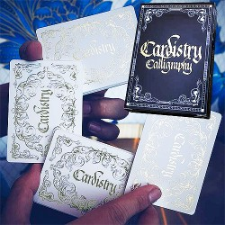 Cardistry Calligraphy - Golden