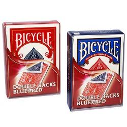 Bicycle - Mazzo doppio dorso - Rosso/blu