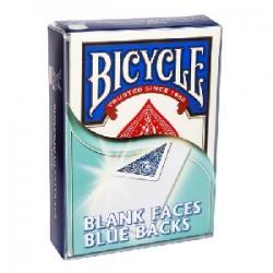 Bicycle - Mazzo faccia bianca/dorso blu