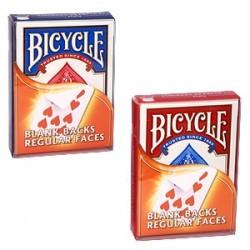 Bicycle - Mazzo dorso bianco/faccia regolare