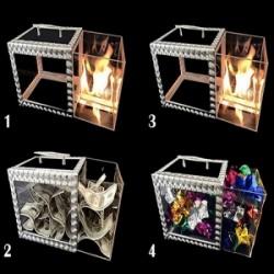 Tora Crystal Drawer Box 3 Times