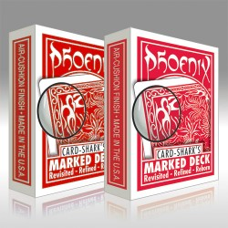 Phoenix Marked Deck - Dorso rosso