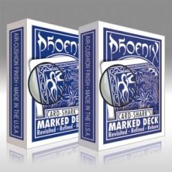 Phoenix Marked Deck - Dorso blu