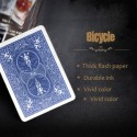 Carte lampo - Dorsi Bicycle blu