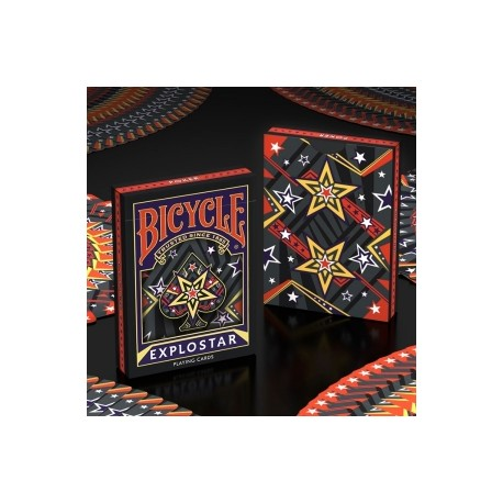 Bicycle - Explostar Playing Cards