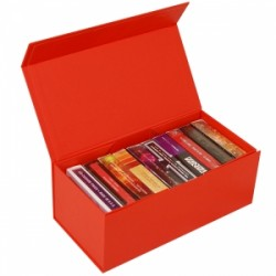 BAISIK Playing Card Storage Box - Red
