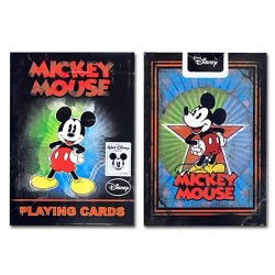 Vintage mickey playing cards