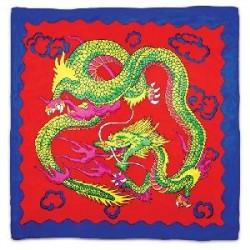 Sitta Dragon Silk - Rosso - Cm 45 x 45