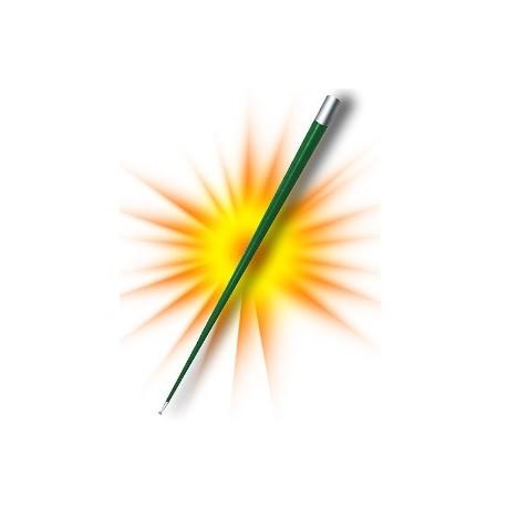 Bastone apparizione - In acciaio colori celeste, giallo, nero, rosso, verde